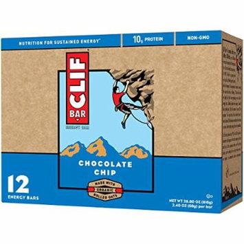 CLIF BAR - Energy Bar - Chocolate Chip - (2.4 Ounce Protein Bar, 24 Count)