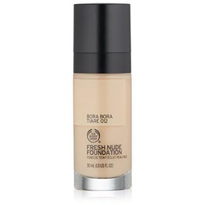 The Body Shop Fresh Nude Foundation, Shade 12 Bora Bora Tiare, 1 Fluid Ounce