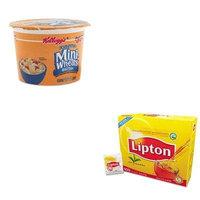 KITKEB42799LIP291 - Value Kit - Kellogg's Breakfast Cereal (KEB42799) and Lipton Tea Bags (LIP291)