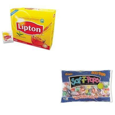 KITLIP291SPA182 - Value Kit - Spangler Saf-T-Pops (SPA182) and Lipton Tea Bags (LIP291)