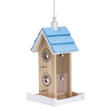 Perky Pet Birdie B and B Wood Chalet Bird Feeder