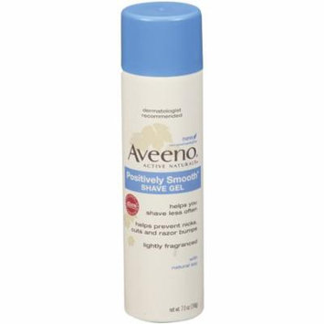 Aveeno Positively Smooth Shave Gel 7 oz (198 g)