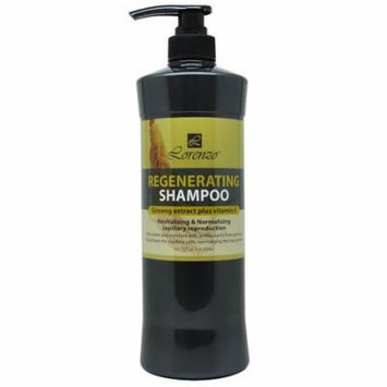 Lorenzo Regenerating Shampoo 33.78 fl. oz. / 1000 ml Ginseng Extract + Vitamin E