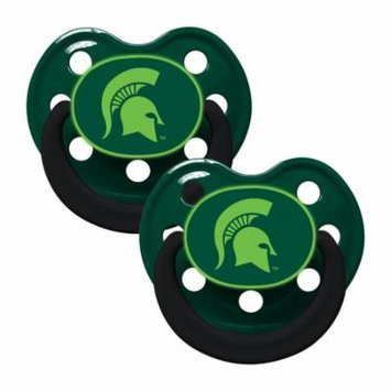 NCAA Michigan State Glow in the Dark 2-Pack Pacifiers