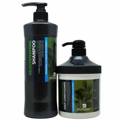 Lorenzo Rejuvenating Anti-Hair Loss Shampoo 1000 ml + Deep Conditioner 800 ml