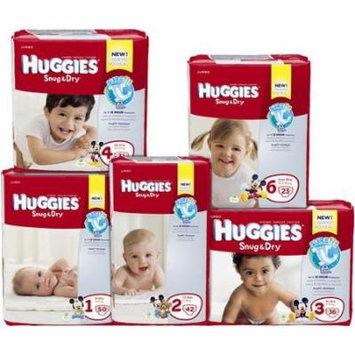 Kimberly Clark Huggies Diaper - 40653CS - Size 1, 176 Each / Case