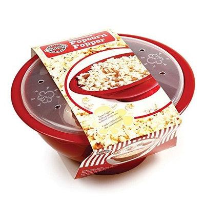 Microwave Popcorn Popper By Norpro, Make Light, Fluffy Popcorn Without Using Oil.