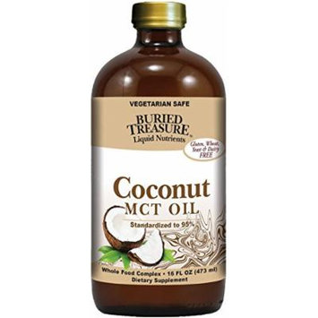Buried Treasure Coconut Oil MCT - 16 fl oz (Pack of 2)