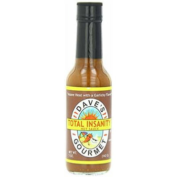Dave's Gourmet 3 Piece Total Insanity Hot Sauce, 5 Ounce