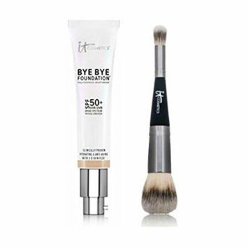 IT Cosmetics® Bye Bye Foundation Plus Heavenly Luxe Complexion Perfection Brush No. 7