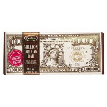 Million Dollar Dark Chocolate Bars - 2 Oz - 12 Bars Case