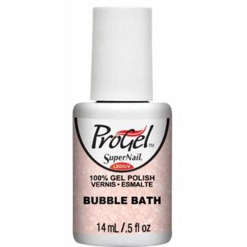 Supernail Progel Nail Lacquer, Bubble Bath, 0.5 Fluid Ounce