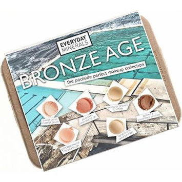 Everyday Minerals Bronze Age Makeup Kit Complete With Three Mineral Blushes and Three Bronzers