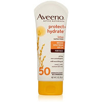 AVEENO Active Naturals Protect + Hydrate Lotion Sunscreen SPF 50 3 oz (Pack of 10)