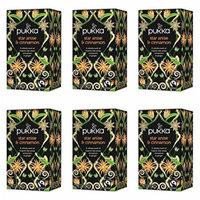 (6 PACK) - Pukka Star Anise & Cinnamon Tea  20 Bags  6 PACK - SUPER SAVER - SAVE MONEY
