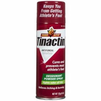 Tinactin Antifungal Deodorant Powder Spray for Athlete's Foot 4.6oz Each