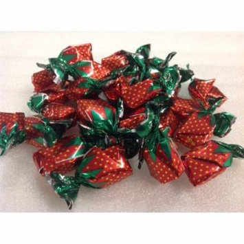 Arcor Filled Strawberry BonBons 2 pounds filled hard candy strawberry hard candy