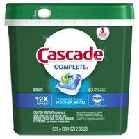 Cascade® Complete® Fresh Scent ActionPacs™ Dishwasher Detergent 33.1 oz. Tub