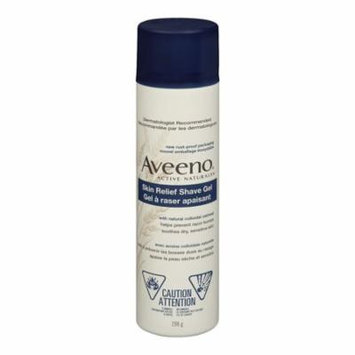 Aveeno Therapeutic Shave Gel with Natural Colloidal Oatmeal 7 oz