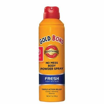 Brand New!!Gold Bond No Mess Spray Powder Fresh 7 oz._LOW PRICE!