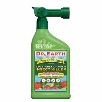 Dr. Earth Organic & Natural Final Stop Vegetable Garden Insect Killer, 32 oz RTS