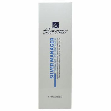 Lorenzo Silver Manager 8.11 fl. oz. / 240 ml Yellow Out & Brilliant Shine In
