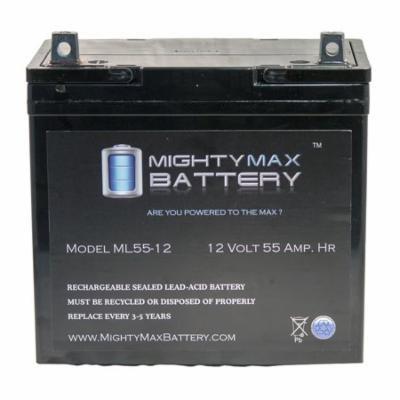 12V 55Ah SHOPRIDER MOBILITY JUMBO 888WSB STREAMER MID SIZE Battery