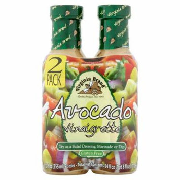 Virginia Brand Avocado Vinaigrette, 12 fl oz, 2 pack