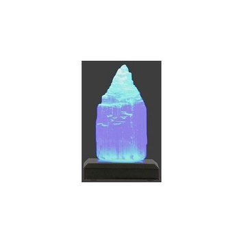Aloha Bay Palm Wax Candles - Chakra Crystal with 5 Color Base - Glow Crystals And Accessories