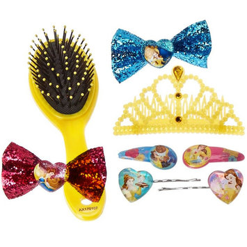Disney Princess Beauty and the Beast Girls Hair Clips and Accessories Gift Set