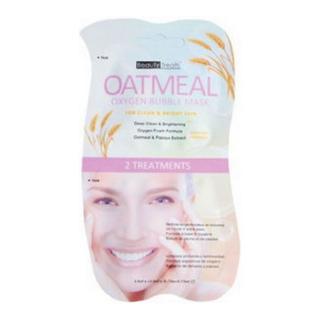 (3 Pack) BEAUTY TREATS Oatmeal Oxygen Bubble Mask - Oatmeal
