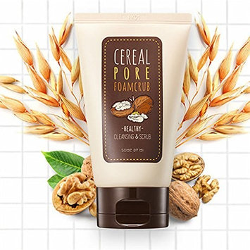 [SOME BY MI]Cereal Pore Foamcrub Cleansing & Scrub 100ml: Beauty