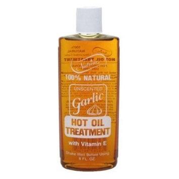 Nutrine Garlic Hot Oil Treatment 8oz. Unscented by Nutrine