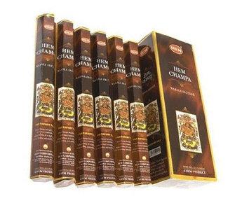 Hem Champa Incense, 120 Stick Pack