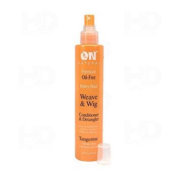 (PACK OF 2) ON Weave & Wig Tangerine Conditioner & Detangler, 8OZ : Beauty