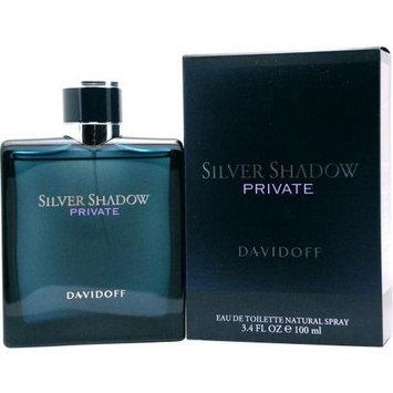 Silver Shadow Private By Davidoff For Men Edt Spray 3.4 Oz