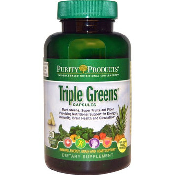 Purity Products Triple Greens Capsules