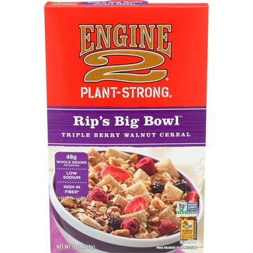 Engine 2, Rip's Big Bowl Triple Berry Walnut Cereal, 13 oz
