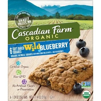 Cascadian Farm Organic Soft Baked Squares, Wild Blueberry Snack Bar, 6 Bars