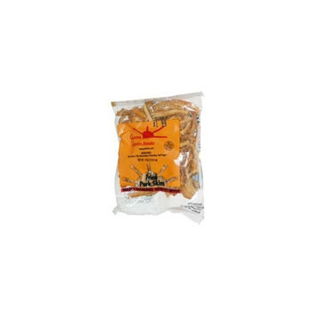 Fried Pork Skins Hard Strips Red Pepper 36 bags (3.25oz)