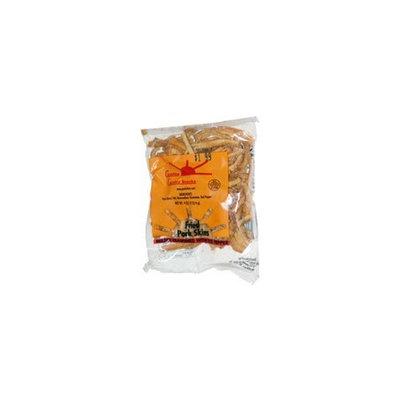 Fried Pork Skins Hard Strips Red Pepper 36 bags (3.25oz)