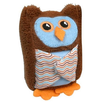 Stephan Baby Boo-Hoo Owl Comfort Toy and Boo Cube, Blue (Discontinued by Manufacturer)