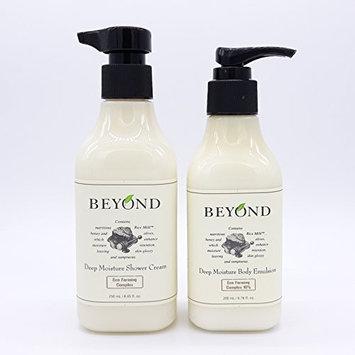 BEYOND Deep Moisture Shower Cream & Body Emulsion SET Body Cleanser Body Lotion