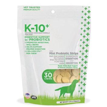 K-10 Plus Digestion Support Dog Chews, 4.23 oz.