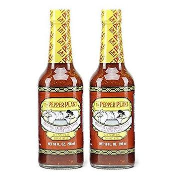 The Pepper Plant Hot Sauce, Original, 10 Oz (Pack of 2)