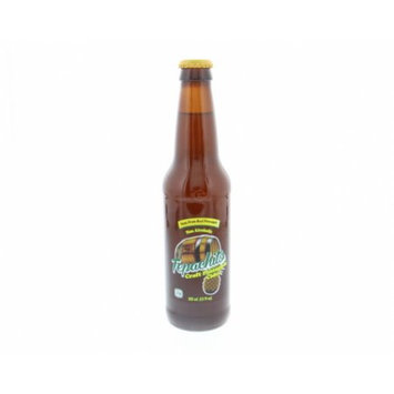 Tepachito Craft Pineapple Cider NonAlcoholic - Sidra Sabor a Pina SinAlcohol 12 Oz (Pack of 6)