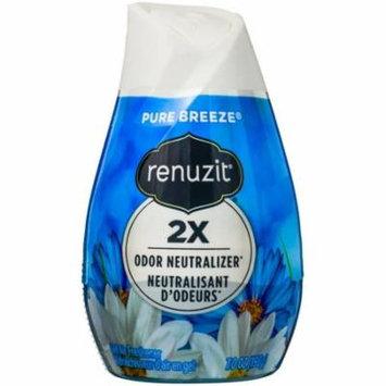 Renuzit Gel Air Freshener, Pure Breeze 7 oz (Pack of 3)