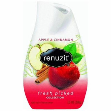 Renuzit Fresh Picked Collection Gel Air Freshener, Apple and Cinnamon 7 oz (Pack of 4)
