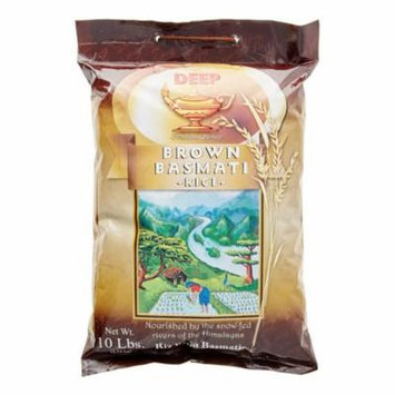 Deep Brown Basmati Rice, 10 Lb