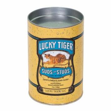 Lucky Tiger Suds for Studs Gentleman's Bar Soap, 9.5 Oz